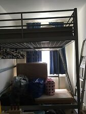 Double Loft Bed Ikea - No Mattress