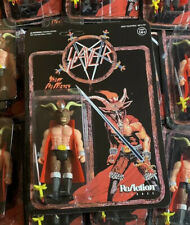 Heavy Metal Band SLAYER Minotaur Super7 ReAction Action Figure Show No Mercy