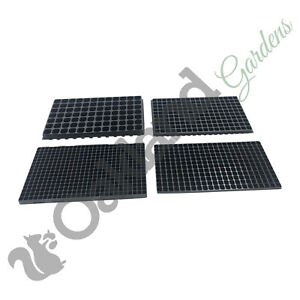Multi Cell Plug Trays Seed Tray Bedding Seedling Inserts 84, 180, 264, 432 Cells