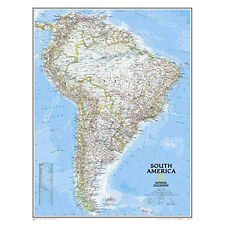 "South America Classic Wall Map Map Type: Standard (24"" x 30"")"