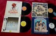 LP(4) MISC LP LOT EX