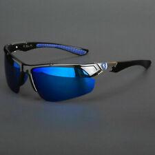 New Men KHAN HD+ Sunglasses Sport Wrap Around Mirror Driving Eyewear Glasses