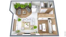 3d Home Interior Design Planning for House Kitchen Bathroom Bedroom 3d CAD