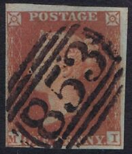 Numeral Cancellation Superb Great Britain Stamps