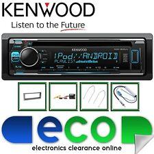 Peugeot 407 2004-2010 KENWOOD CD MP3 USB AUX Display Multi Colore KIT STEREO AUTO