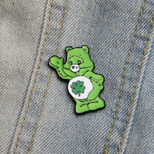 Good Luck Care Bear Metal Enamel Clutch Hat Backpack Flair Clasp Vest Pin Brooch