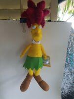 "Simpsons SIDESHOW BOB 20"" Plush Toy Factory Stuffed Doll NWT"