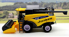 PERSONALISED NAME Gift Yellow Combine Harvester Farm Toys Boys Toy Present Boxed