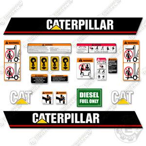Caterpillar DP50N Decal Kit Forklift Decals - Warning Stickers DP 50