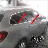 Deflettori Aria Antiturbo Oscurati Opel Astra J Sports Tourer SW Station Wagon