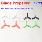 3-Leaf RC Propeller Blade for Hubsan X4 H107L H107C H107D RC Quadcopter Drone