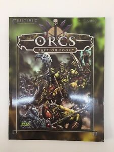 FASA CORPORATION CRUCIBLE CONQUEST OF THE FINAL REALM ORCS FACTION BOOK 9002