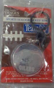 HOUSTON OILERS NFL FOOTBALL Hologram Key Ring