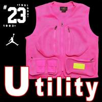 NIKE JORDAN  SPACER UTILITY MESH VEST 23 ENGINEERED LUXE SPORT 2XL MSRP $100
