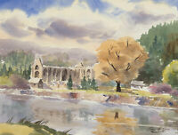 John A. Case - Collection of Watercolours, Tinern Abbey & Other Views