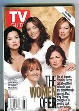 TV Guide Magazine June 23-29 2001 Women Of ER EX No ML 100616jhe