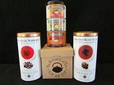 Republic of Tea Lot Cranberry Orange, Pomegranate Green, & Mixed Herbal Teas NEW