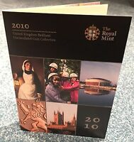 Royal Mint - Annual 12 Coin 2010 UK Set Brilliant Uncirculated - Sealed BUnc