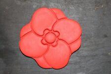 Poppy Flower biscuit cookie cutter icing sugar craft cake