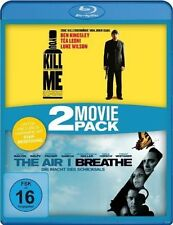 YOU KILL ME (Ben Kingsley) + THE AIR I BREATHE (Kevin Bacon) 2 Blu-ray Discs NEU