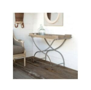 Park Hill Collection Planter's Console Table Farmhouse Parkhill French Foyer