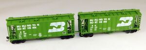 Walthers #932-4683 84' Paired Airslide Covered Hopper BN #413406 1/87 HO Scale