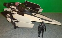Star Wars V-Wing Fighter 30th Anniversary Collection and a Clone Pilot - Used