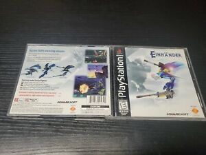 Einhander Sony PlayStation 1 PS1 CASE ONLY, NO GAME, READ DESCRIPTION