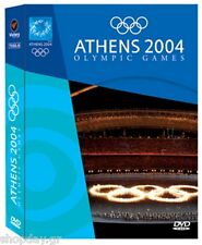 Athens 2004 Olympic Games 4 DVDs Set Opening & Closing Ceremony & Highlights