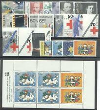 jaargang 1983 postfris (MNH) met kindblok