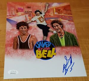 Dustin Diamond Screech Saved by The Bell Hand Signed 8x10 Photo JSA Image #2 B