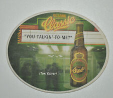 Vintage Tuborg Classic beer coaster movie series Croatian edition Taxi Driver