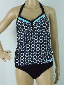 NWT JAG Swimsuit Tankini 2 piece set Black Size Small ($78 top $58 Bottom) NEW