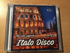 CD Italo Disco - The Lost Legends Vol.21 limited edition only 100 copies