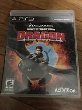 How To Train Your Dragon (Sony PlayStation 3 2010) Complete
