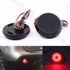 LED Rear Bumper Reflector Light Fog Brake For Qashqai Dualis Sienna Corolla Juke