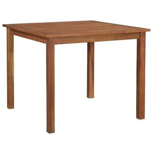 Square Garden Table Outdoor Solid Wooden Dining Camping Picnic Patio Tables