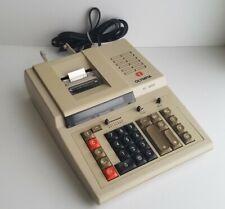 OLYMPIA EC 4000 Vintage Calculator Printer *Working Condition!*