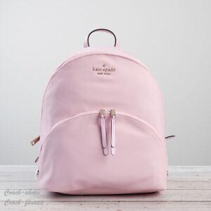 NWT Kate Spade New York Karissa Nylon Large Backpack in Serendipity Pink