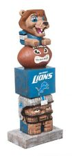 Detroit Lions Tiki Tiki Totem Statue NFL - Free Shipping