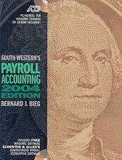 Payroll Accounting 2004, Bernard Bieg, New Book