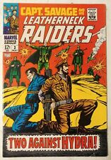 Marvel-Captain Savage and His Leatherneck Raiders #3-1968-Two Against Hydra!