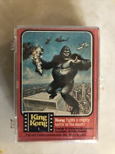 1976 Topps King King Movie Complete 55-Trading Card Set
