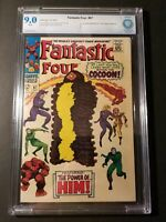 Fantastic Four #67 CBCS 9.0 White Pgs 1st Cameo Appearance of Him (Adam Warlock)
