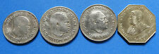 A  Rare set of 4 Coins of SierraLeone  4 Coins 1 Leon, 20 X 2  diff. & 10 Cent