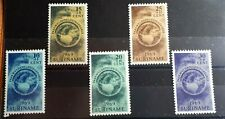1969 Suriname Full Set Of 5 Stamps - Easter Charity  - MNH