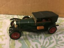 Vintage Corgi Bentley Le Mans 1927 w/ Driver (dark green red wheel) Made Britain