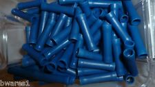 100 x NARVA 56156 CABLE JOINER CRIMP TERMINAL (BLUE) 4mm WIRE