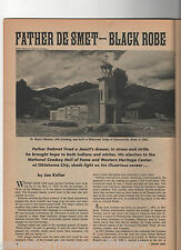 FATHER PIERRE JEAN DeSMET - BLACK ROBES OF THE ROCKIES