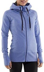 LULULEMON Sing Floss Travel Jacket Womens Size 8 Heather Blue Full Zip